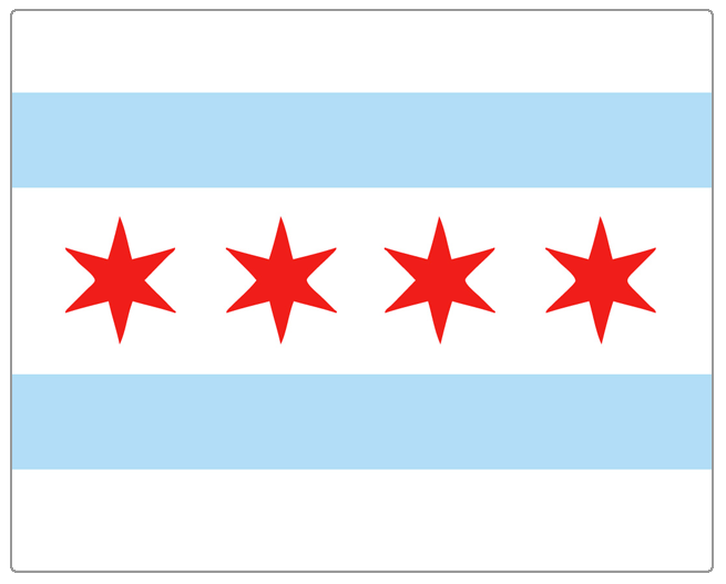 mm-chi city of chicago flag